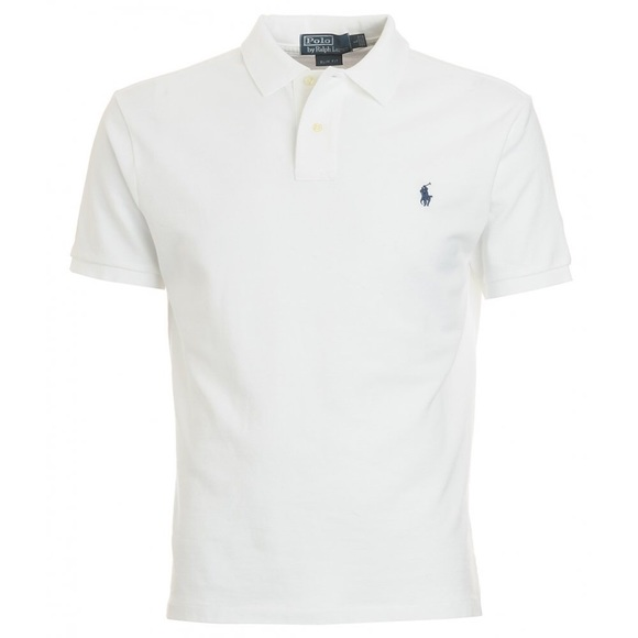 Polo by Ralph Lauren mens white shirt. XL